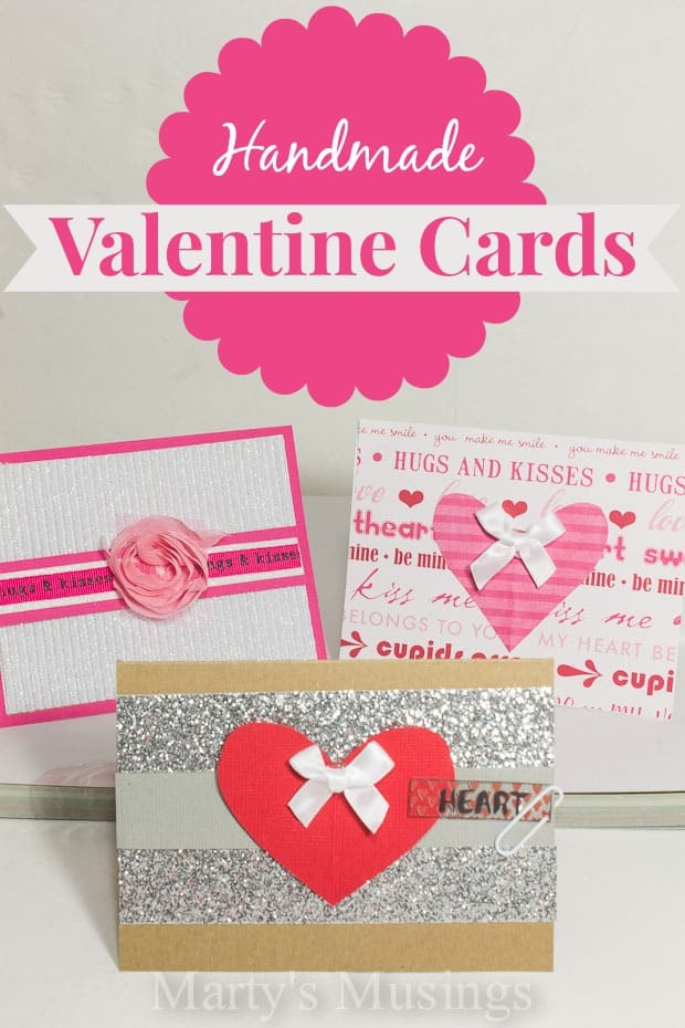 These easy handmade Valentine cards are perfect for kids and beginners! Just grab some cardstock, scrap paper, embellishments and anything else you have on hand! Step by step video included.