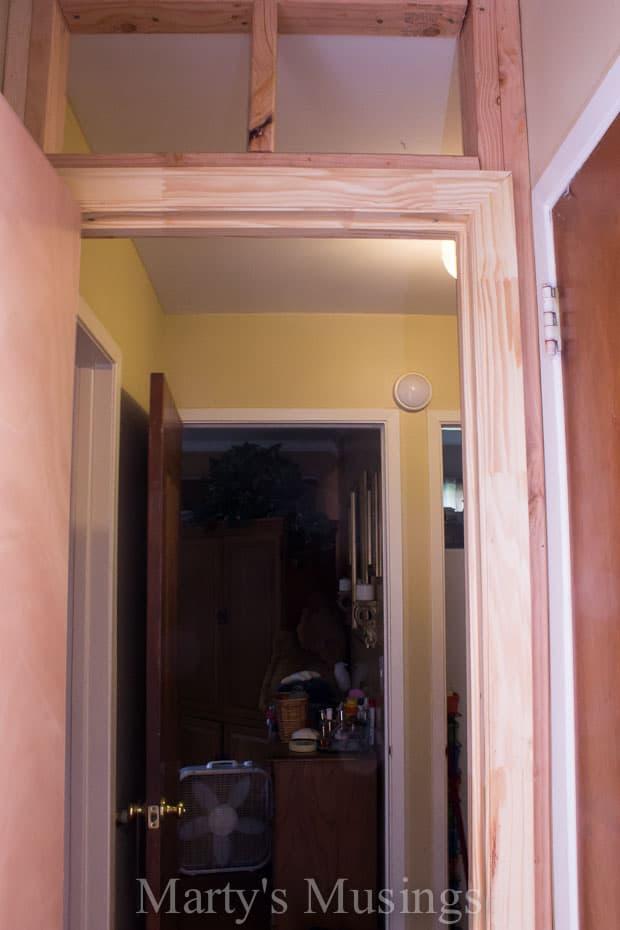 how to install an interior door
