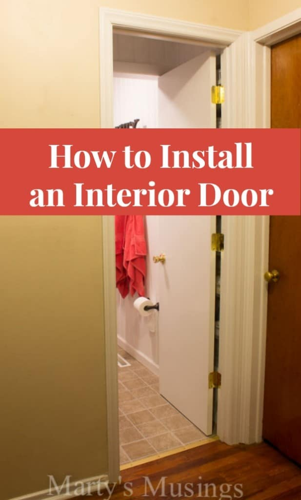 how to install an interior door martys musings apps
