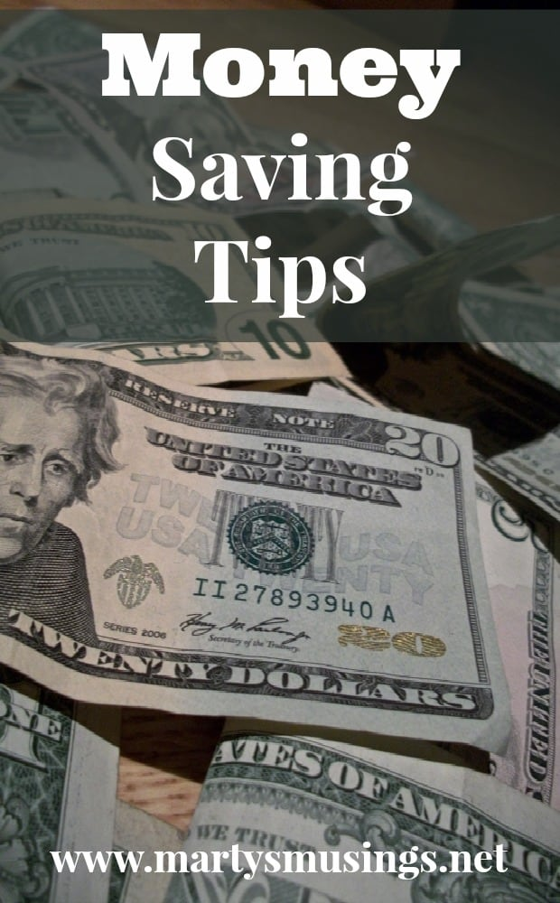 Money Saving Tips from Marty's Musings