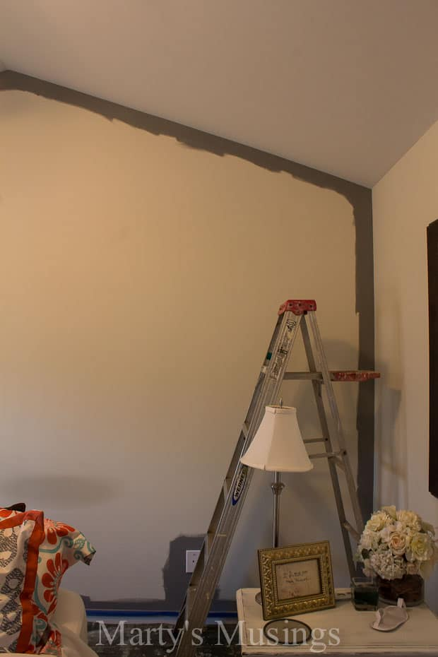Painting an accent wall marty 39 s musings Accent wall do s and don ts