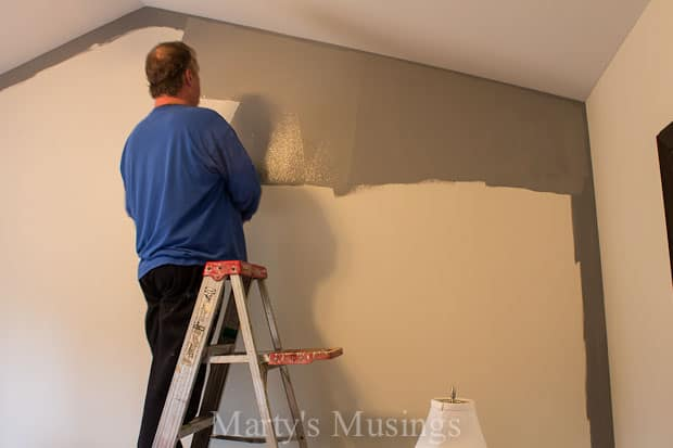Painting an Accent Wall - Marty's Muisngs