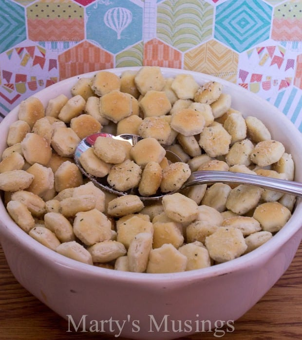 Ranch Oyster Crackers have been around for years and is one of those ...