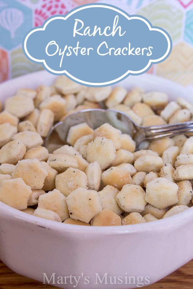 Ranch Oyster Crackers from Marty's Musings
