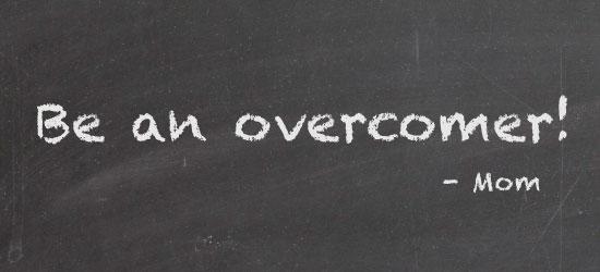 "Mandisa ""Overcomer"" video and devotion"