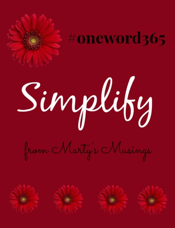 #oneword365 from Marty's Musings