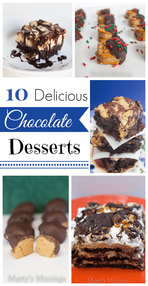 Ten Delicious Chocolate Desserts