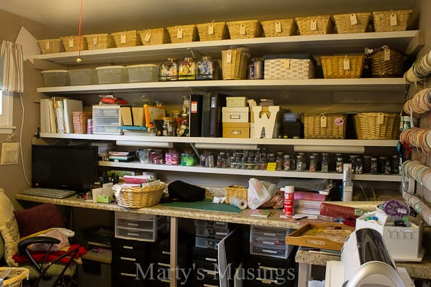 craft room ideas on a budget craft room inspiration marty s musings 7638