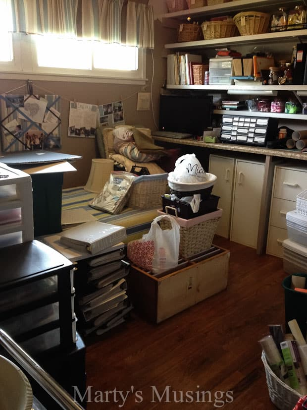 Craft Room Organization from Marty's Musings