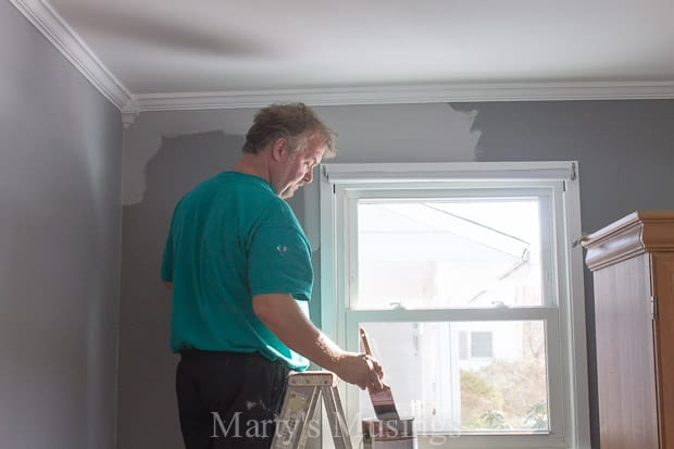 New Paint Color for Bedroom - Marty's Musings