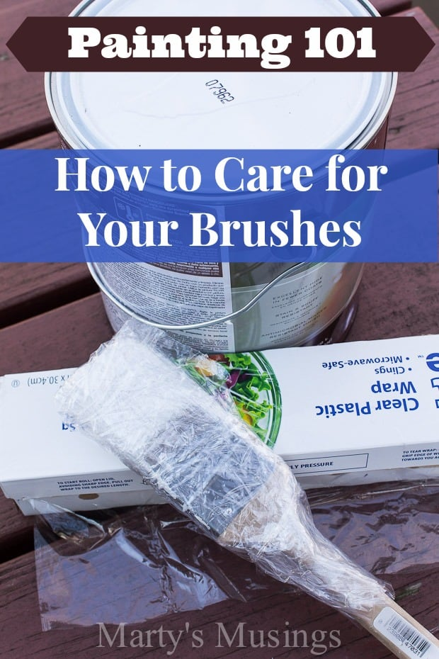 Painting 101: How to Care for Your Brushes