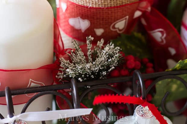 Valentine's Day Table Setting - Marty's Musings