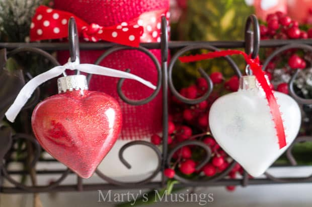 Valentine's Day Tablescape - Marty's Musings