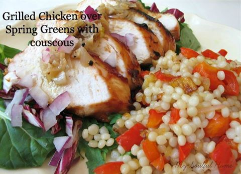 Grilled Chicken - My Soulful Home