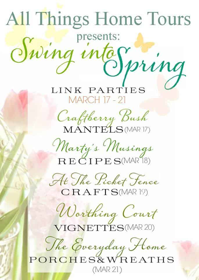 All Things Home Spring Link Party