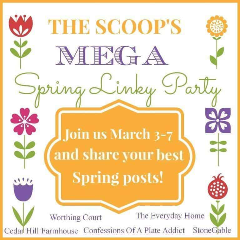The Scoop's Mega Spring Linky Party