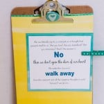 Altered Mini Clipboard Craft