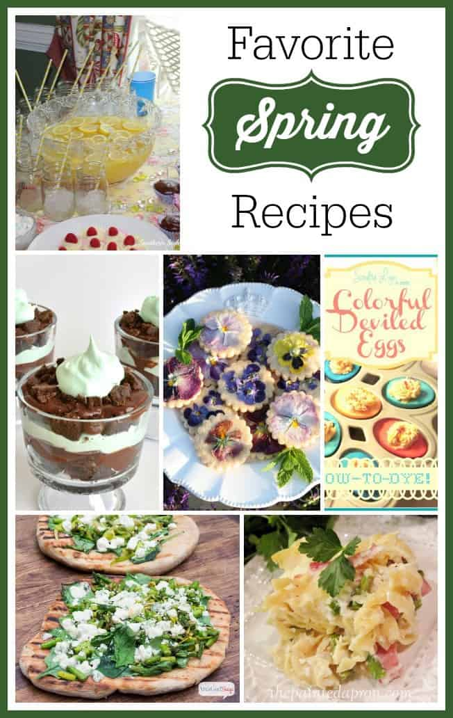 Favorite Spring Recipes - Marty's Musings