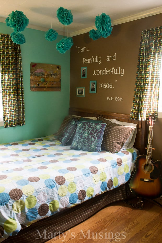 Teenage girls room for Wall art for teenage girl bedrooms