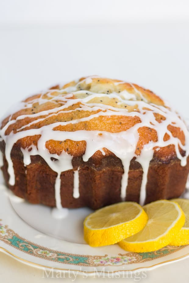 Lemon Poppy Seed Bread - Marty's Musings