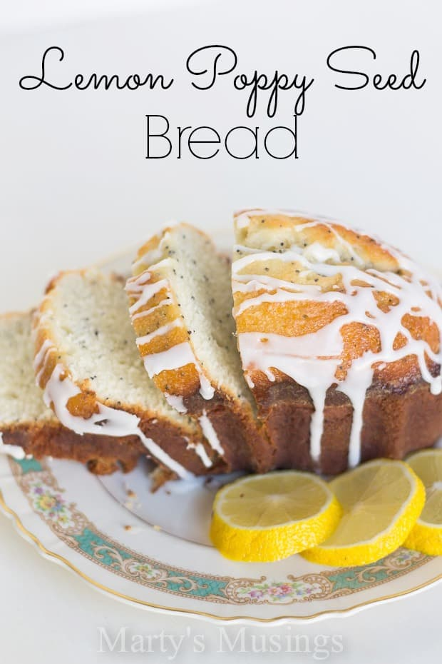 Lemon Poppyseed Bread - Marty's Musings
