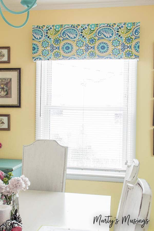 No sew window valance How to make a valance without sewing