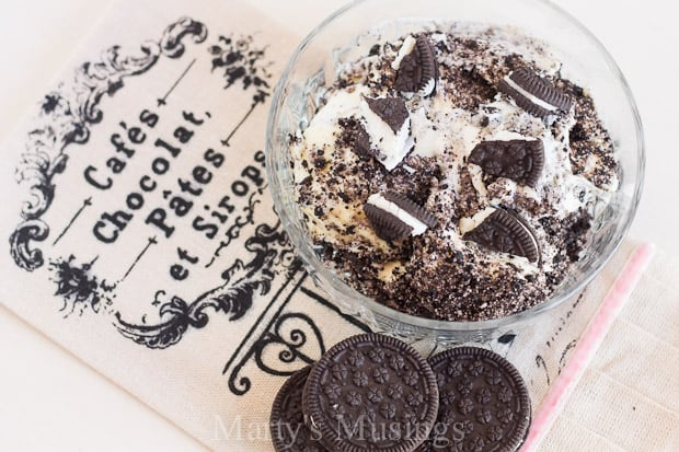 This popular Oreo Dirt Cake is a crowd pleaser! Using everyday ingredients, this recipe is so easy anyone can make it!