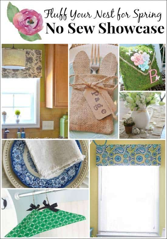 No Sew Window Valance from Marty's Musings
