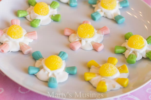 Candy Corn Flowers - Marty's Musings