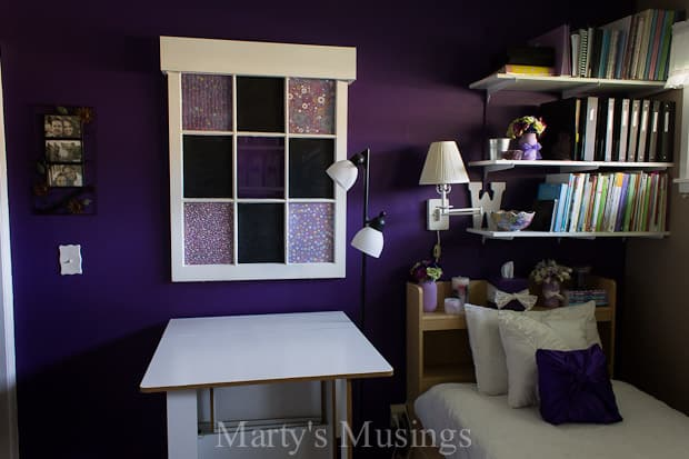 Accent Wall Color: Behr Perpetual Purple