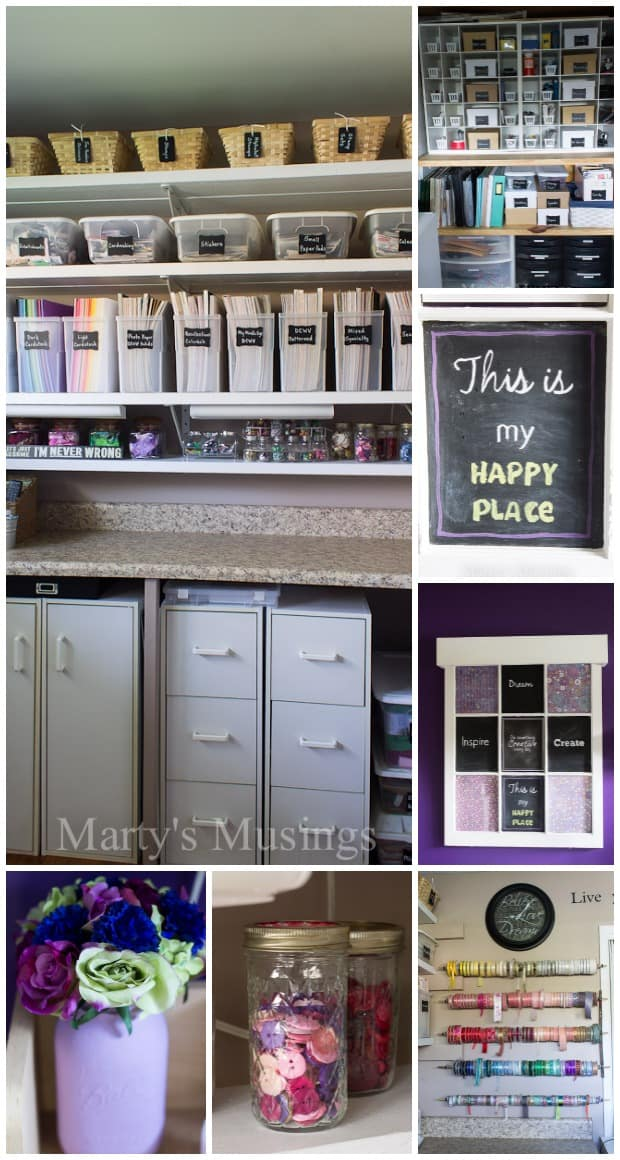 Craft Room Makeover - Marty's Musings