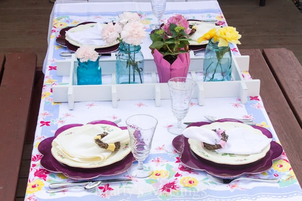 Easy Spring Table Setting Ideas - Marty's Musings