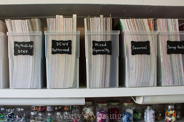 Organize With Diy Chalkboard Tags Martys Musings