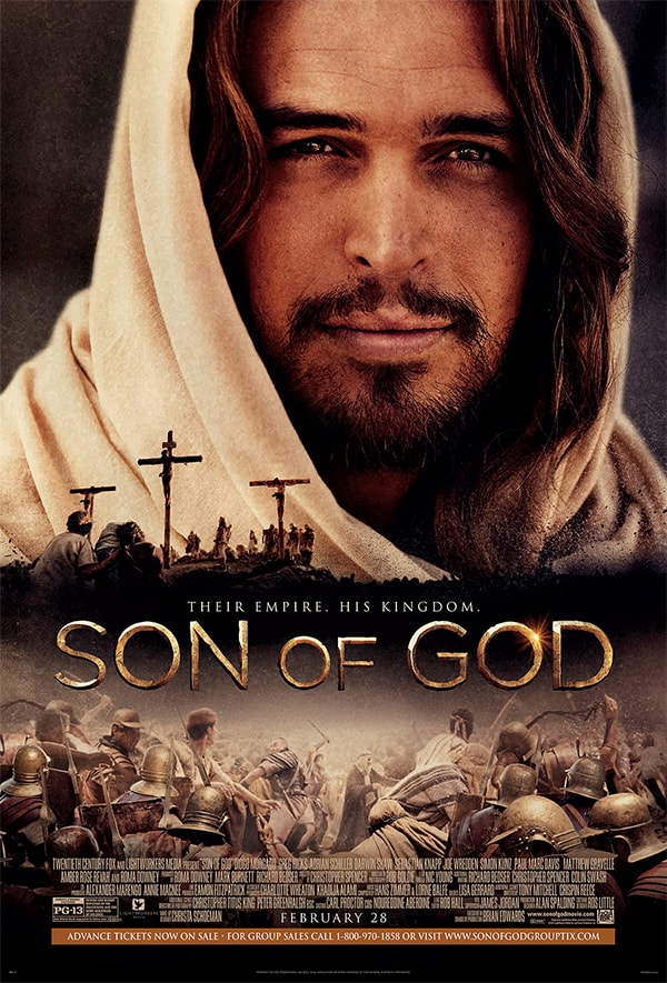 Son of God movie giveaway from Marty's Musings