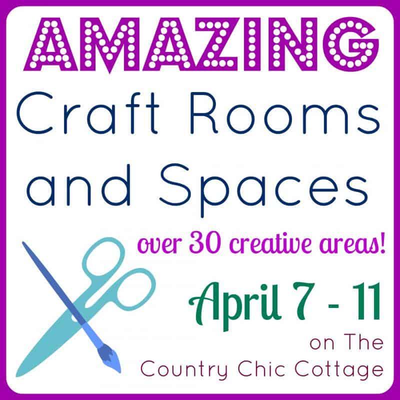 Craft Room Makeover and Organization Ideas