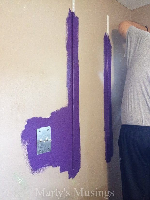 Accent Wall Colors Behr Perpetual Purple - Marty's Musings
