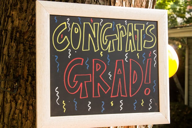 Graduation Party Ideas - Marty's Musings