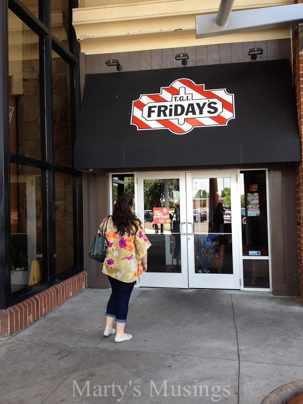 Celebrating with TGI Fridays Restaurant - Marty's Musings-4