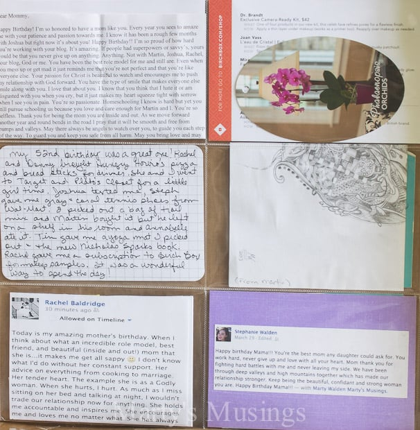 Project Life Ideas for the Busy Woman - Marty's Musings