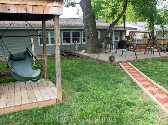 Spending Time with Family in the Backyard - Marty's Musings