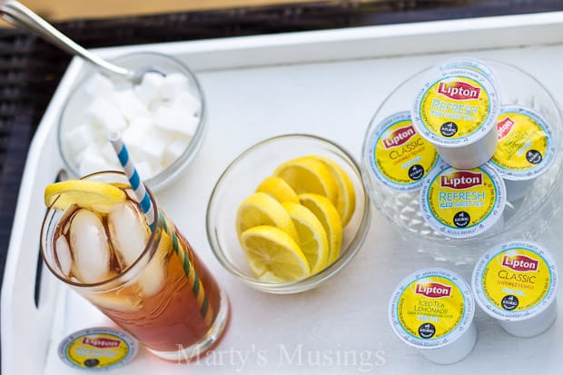 Taking Care of Mama and Lipton Iced Tea K-cups - Marty's Musings