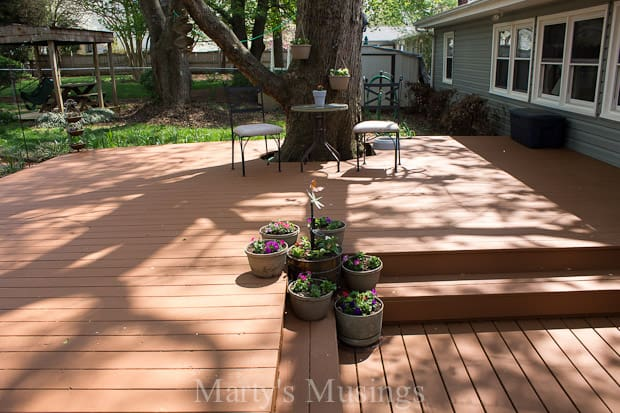 Wood Deck Restoration with Behr Premium DeckOver®