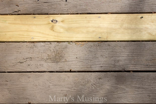 wood deck restoration with behr premium deckover marty 39 s musings