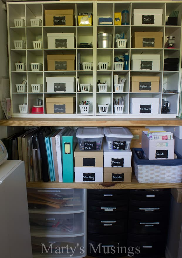 Organization ideas for small spaces - Organizing craft supplies in small space collection ...