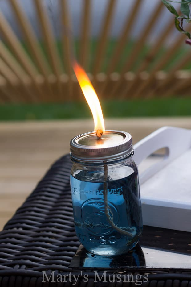 How to Make your own Citronella Candles - Marty's Musings