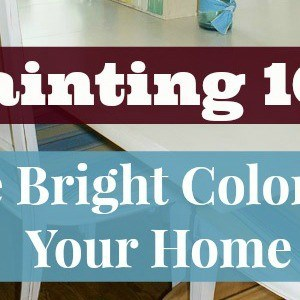 How to use Bright Paint Colors in Your Home - Marty's Musings 1