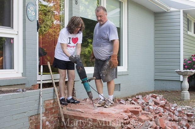 Jackhammer Demolition: Part Two of Our Dream Deck