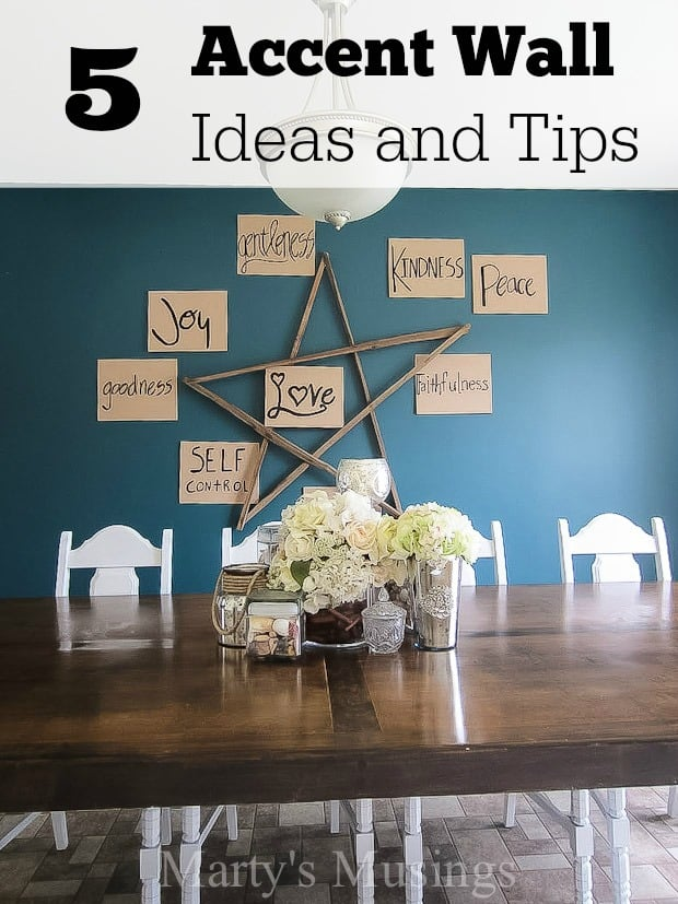 5 Accent Wall Ideas and Tips - Marty's Musings