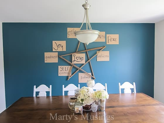 Accent Wall Ideas and Tips - Marty's Musings