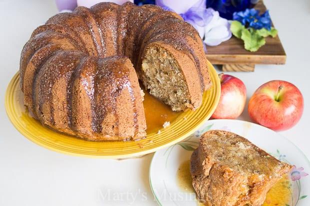Apple Cake Recipe - Marty's Musings